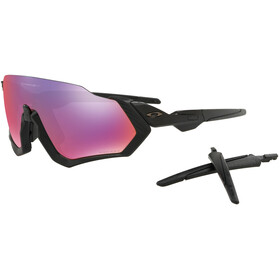 Oakley Flight Jacket Sunglasses polished black/prizm road